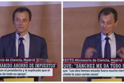 Un titubeante Pedro Duque se hace un 'Infanta Cristina' y se hunde en un agujero negro por su trampa fiscal