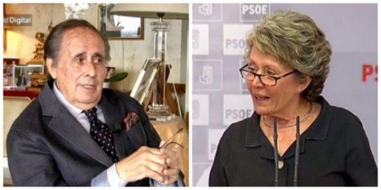 Jaime Peñafiel ajusta cuentas con Rosa María Mateo a la que deja de sectaria y vaga redomada