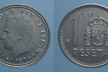 Ofrecen 20.000 euros por las antiguas pesetas