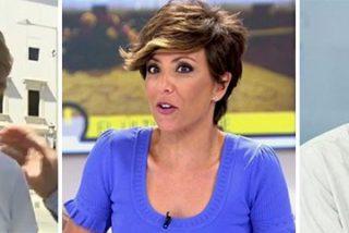 Brutal show en Telecinco: la franquista no soporta más y se marcha en directo poniendo a parir a un tertuliano