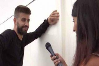 'Sálvame': El 'momento Chabelita' de Piqué con una reportera en la puerta de su casa