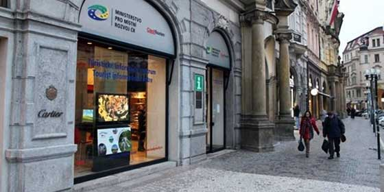 Todo sobre la República Checa: Oficina de turismo en Praga