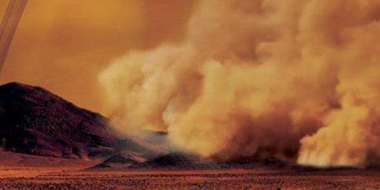 Así fue la primera observación de tormentas de polvo en Titán