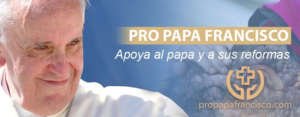 Rotundo éxito de la iniciativa 'Pro Papa Francisco' de apoyo al Papa frente a los ataques de los rigoristas