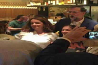 Mariano Rajoy se reunió este jueves seis horas con cargos del PP en un restaurante madrileño