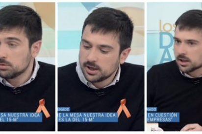 """Ramón Espinar jalea la barra libre en la sanidad para los 'sin papeles' y acaba crucificado: """"¿Quién paga esto, sinvergüenza?"""""""