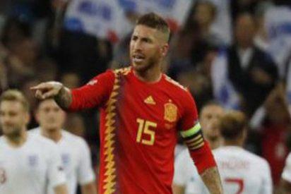 La fea reacción del público de Wembley con Ramos