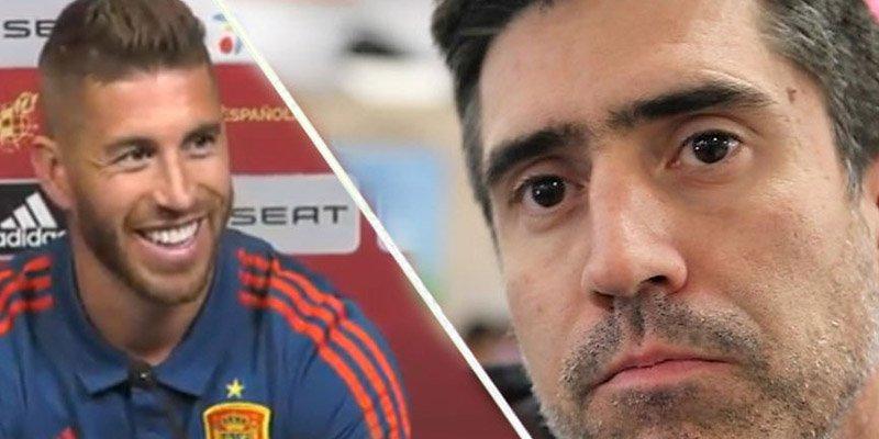 Ramos le lanza su propio 'zasca' a Diego Torres
