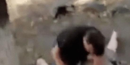 El vídeo del valiente que salva a una anciana de 88 años de ser violada en un parque