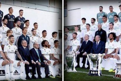 Estos son los grandes cambios en la foto del Real Madrid respecto al año pasado