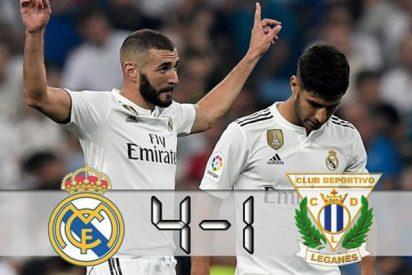 Real Madrid: Benzema se luce en otra goleada madridista sin CR7