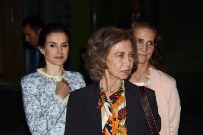 La venganza de Doña Sofía contra la Reina Letizia gracias al varapalo de la Infanta Elena