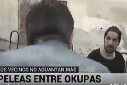 """Intentan agredir a este reportero de Telemadrid en pleno directo: """"¿Quieres que te toque la cara?"""""""