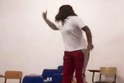 Esta chica intenta hacer el reto #MatildaChallenge y pasa esto…