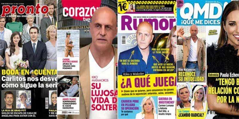 Andrés Pajares resucita subido al 'coche fantástico' y deja patidifuso al mismísimo Kiko Matamoros