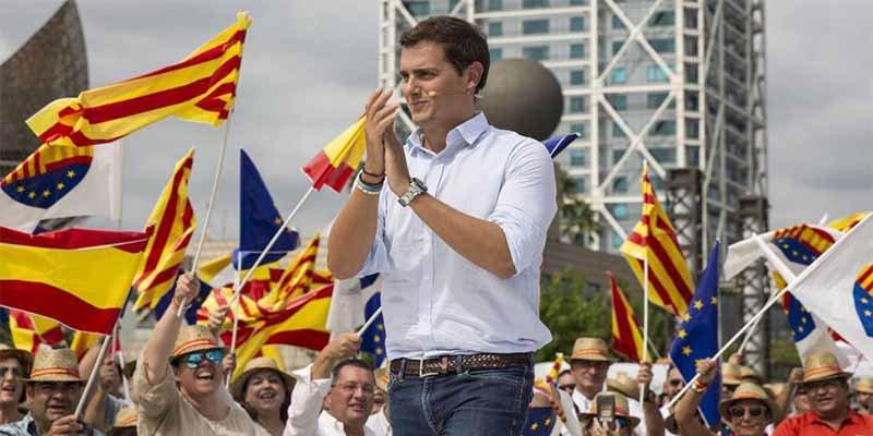 "Albert Rivera: ""Señor Sánchez, no anteponga el sillón a los intereses de España"""