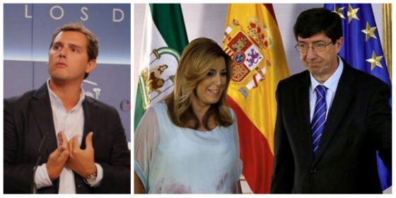 Rivera, a buenas horas rompes con Susana Díaz tras permitir ERES y putas pagadas con talonario público