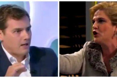 El baño en TV3 de Albert Rivera a los separatas pone a Pilar Rahola como el bicho del pantano