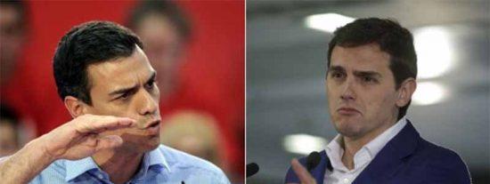 """Albert Rivera a Pedro Sánchez: """"Si está tan convencido de lo bien que lo está haciendo, que nos deje votar"""""""