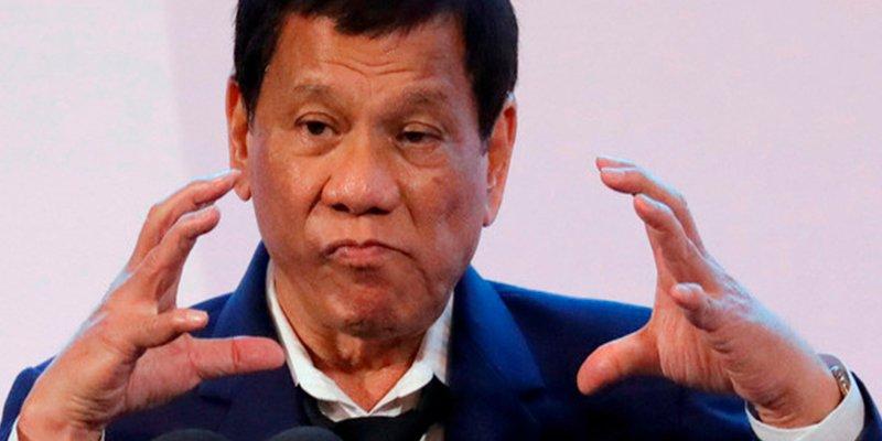 """Rodrigo Duterte, presidente de Filipinas: """"Mi único pecado son las ejecuciones extrajudiciales"""""""