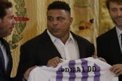 Ronaldo Nazario compra por unos 30 millones de euros el 51% del Valladolid
