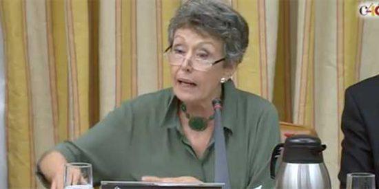 "La 'ancianita roja' que acometió la purga en RTVE se erige como ""paradigma de la libertad"