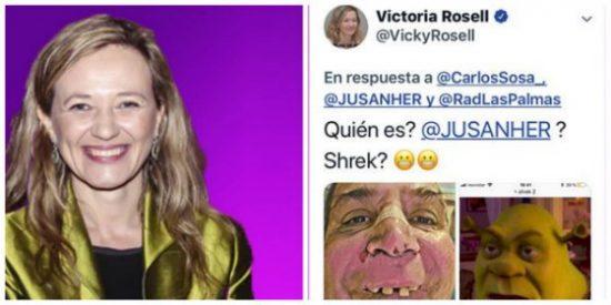'Miss Aeropuertos' Rosell se burla de un periodista accidentado y acaba denunciada ante el CGPJ