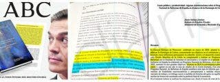 La tesis no es de Sánchez: copió párrafos completos de obras y artículos de otros autores sin entrecomillar