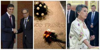 El escalofriante legado de los 100 días de Sánchez: vacuo antifranquismo, purgas en RTVE y masajes al golpismo