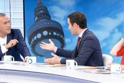 """Antológica bronca en TVE durante visita del secretario general del PP: """"Ahora la dirección somos nosotros"""""""