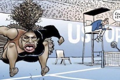 Desaparece de Twitter el autor de la caricatura 'racista' contra Serena Williams