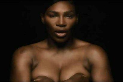 Serena Williams canta en topless a capela y desata la fiebre en las redes sociales