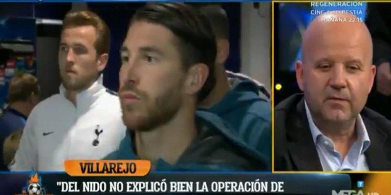 Del Nido deja con 'el culo al aire' a Sergio Ramos