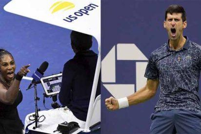 Djokovic 'pasa bolas' sobre el papelón de Serena Williams en la final del US Open y sus acusaciones de sexismo