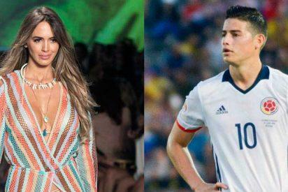 La modelo Shannon de Lima, ex de Marc Anthony, nueva pareja de James Rodríguez