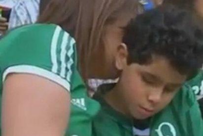 Esta es la historia detrás de la imagen más tierna del fútbol brasileño