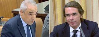"""Un exaltado Simancas se lleva un repaso descomunal de Aznar: """"El único partido condenado por corrupción es el suyo"""""""