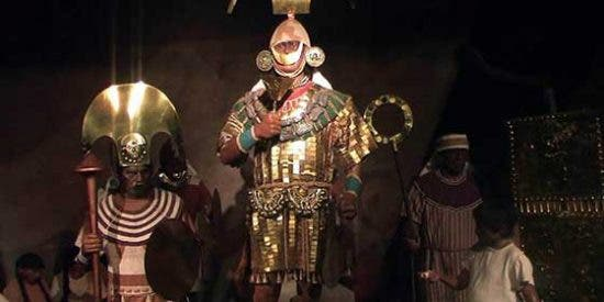 """Réplica del """"Señor de Sipán"""" será exhibida en Lima"""