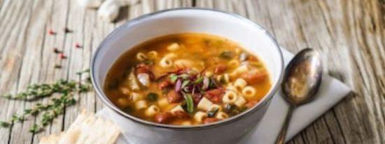 Sopa minestrone: 2 recetas fáciles