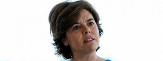 La exvicepresidenta Soraya Sáenz de Santamaría se apresta a dejar la política