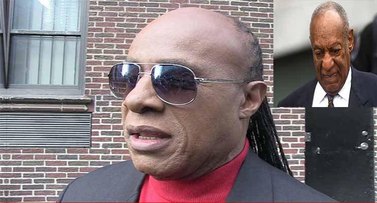 Los deseos de Stevie Wonder a Bill Cosby tras conocer la condena por drogar y violar a Andrea Constand