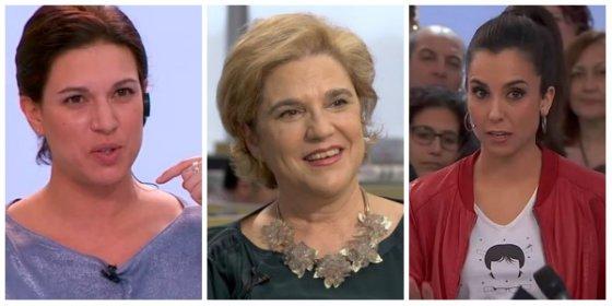 Talegón se pone como una histérica con Levy por exigir que echen de TV3 a Rahola y Laura Rosel