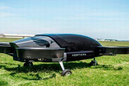 ¡Probado con éxito el primer prototipo de taxi aéreo eléctrico!