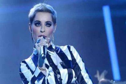 'Tu cara me suena 7': Soraya Arnelas triunfa con su imitación de Katy Perry y gana la primera gala