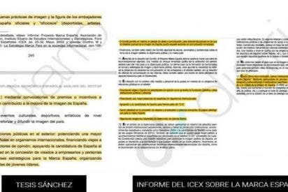 ¿Sabías que Sánchez también plagió en 'su' tesis un informe del ICEX sobre la Marca España?