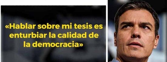 'Doctor Fraude': Pedro Sánchez plagió en su libro 161 líneas de seis textos ajenos
