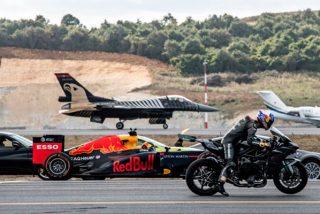 ¿Qué es más rápido, un Tesla, un caza, una moto o un Fórmula 1?