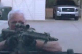 Publican este video de un tiroteo mortal entre policías y un ex marine armado con rifle de asalto en EE.UU.