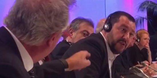 """""""¡A la mierda!"""": Bronca sucia en la reunión de ministros de Interior de la UE sobre inmigración"""