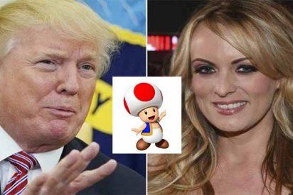 """Stormy Daniels: """"El pene de Trump se parece a Toad, el personaje seta de Mario Kart"""""""